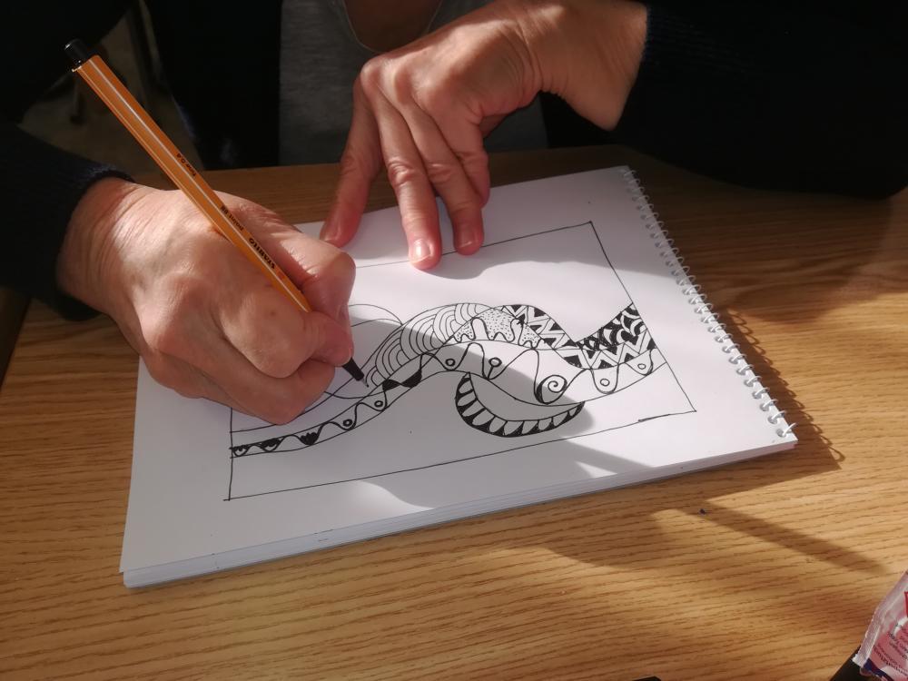 Évindító rajzmeditáció
