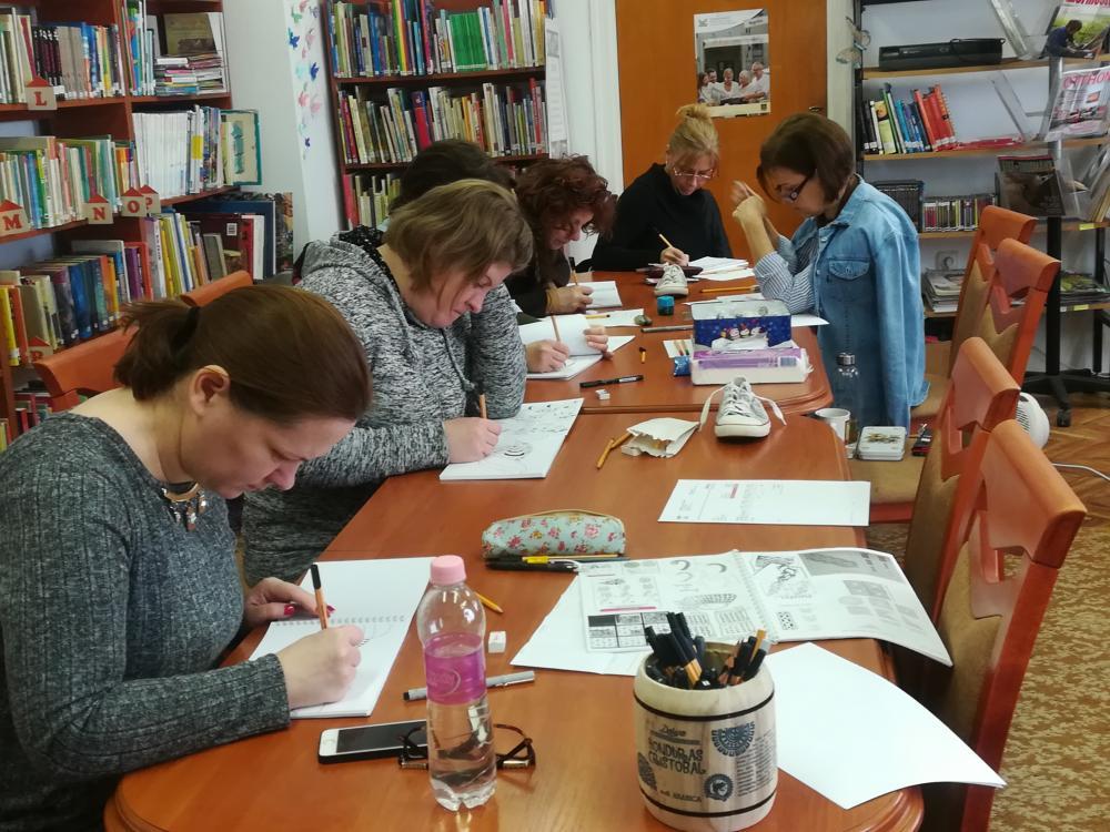 A falu, ahol a legtöbben ismerik a rajzmeditációt