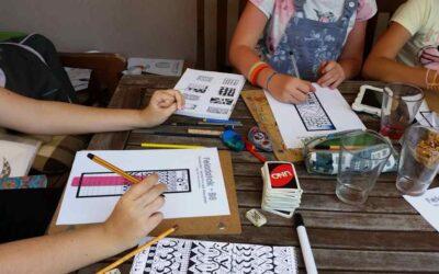 I. Tervezzen, szinezzen rajztábor gyerekeknek