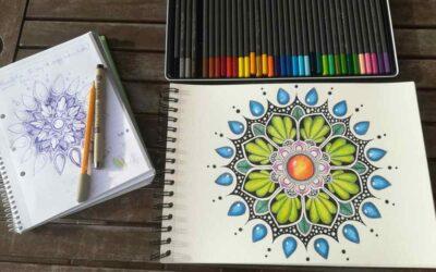 Rajzolj magadnak segítő mandalát
