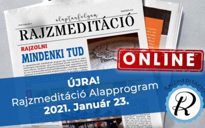 Jelentkezés ONLINE rajzmeditáció alapprogramra – 2021.01.23.