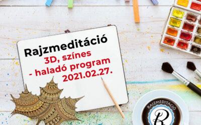 Jelentkezés rajzmeditáció haladó programra – Százhalombatta 2021.02.27.