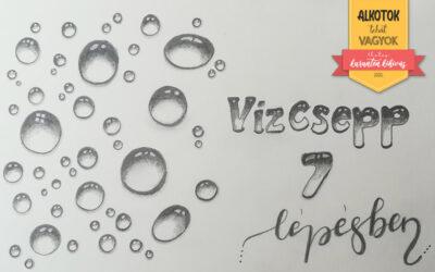 1. Kihívás – Rajzolj vízcseppet 7 egyszerű lépésben!
