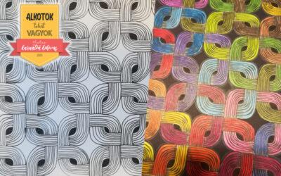 2. Kihívás – Egymásba illeszkedő minták rajzolása