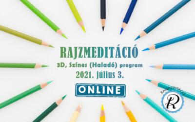 Jelentkezés rajzmeditáció haladó programra – Százhalombatta 2021.07.03.