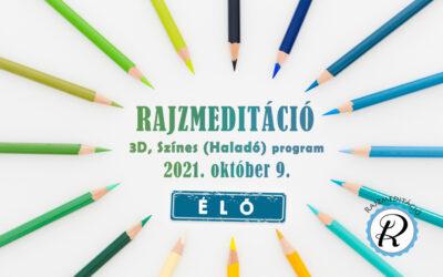 Jelentkezés rajzmeditáció haladó programra – Százhalombatta 2021.10.09.